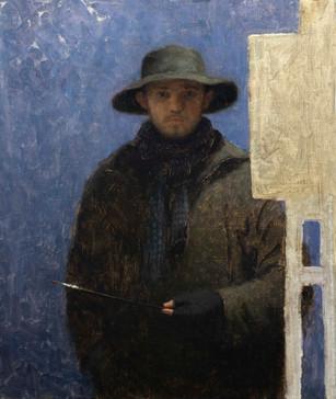 Self Portrait in Hat