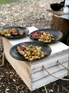 reehaas reerug hert hertenrug biefstuk eten culinair wildbraad wild bos veluwe wildproeverij bosproeverij