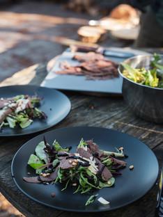 eten culinair diner lunch food vlees wild veluwe smaak proeven bord