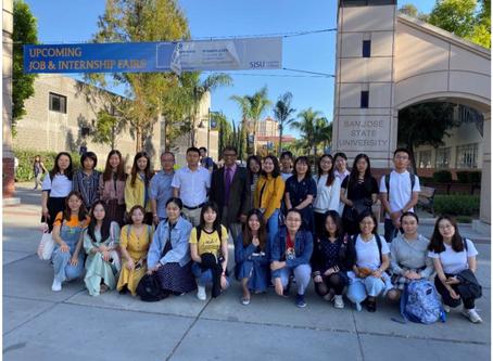 China Capital Normal University Student Internship Program Hosted by USCEC in California 中国首都师范大学赴美国