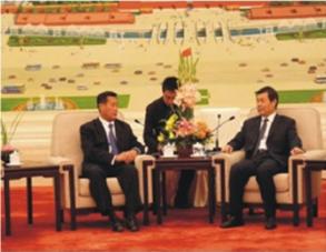 加州参议院副主席率团访问中国 President of California State Senate Visited China