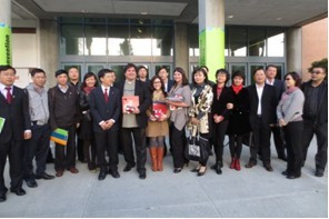 Chongqing Municipal Government Took Training Programs on Cultural Industry & Media Development i