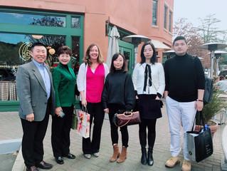 USCEC Visited Partnering Schools to Discuss Education Exchange Programs 拜会加州合作中学领导讨论创新教育项目