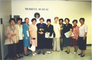全国妇联常务副主席沈淑济女士率团访美 USCEC Hosted Ms. SHEN Shuji, Chair of All-China Women's Federation of China, and the Delegation