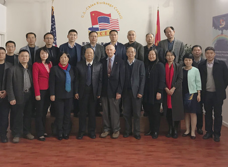 Deans from Ningxia Key Educational Institutions Visited Universities in California 宁夏重点院校学科骨干代表团访问加州