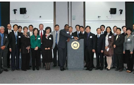 China Oversea Friendship Association Delegation Visited Local Governments in California中华海外联谊会公共行政管理