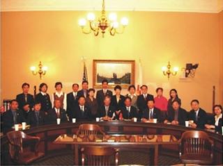 张文忠副校长率中央直属机关党校培训团访美 USCEC Hosted Mr. ZHANG Wenzhong, Vice President of Party School directly under the Central Government, and the Delegaiton