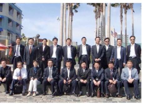 Presidents from Chinese Prestigious Universities Visited SF Bay Area 中国重点大学校长培训团访问美国