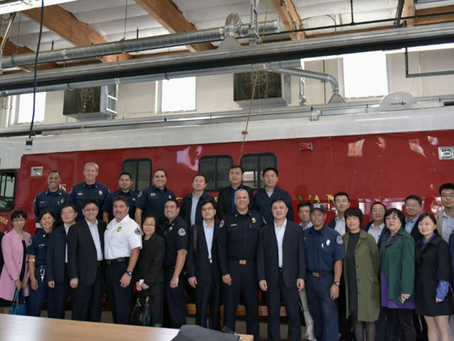 "State Council of China Delegation ""Emergency Management Training Program"" 中国国务院""应急管理""代表团顺利"