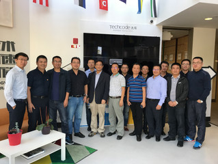 """CRRC Qingdao Sifang Delegation Arrives in Sillicon Valley for """"Innovation and Leadership"""""""