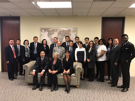"""Ministry of Human Resources & Social Security Visited U.S. for """"Continue Education""""中国人"""