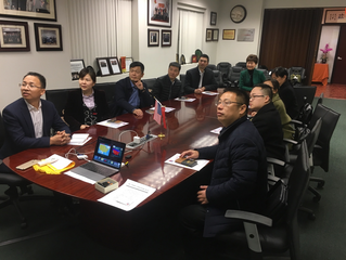 USCEC Hosted 3 Training Delegations from Chongqing Government & Education  Commission美国美中交流协会成功安