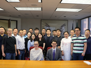 "China's Ministry of Culture and Tourism Delegation Visited the U.S. 2018 中国文化和旅游部""美国文化基础设施建设管理研究"