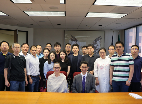 """China's Ministry of Culture and Tourism Delegation Visited the U.S. 2018 中国文化和旅游部""""美国文化基础设施建设管理研究"""