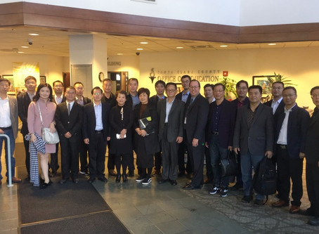 Quzhou Education Delegation visited San Francisco and Washinton D.C. for Grasping the Latest Educati