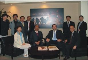 中国金融界访问美国富国银行总部 Chinese Financial Delegation Visited the Headquarters of Wells Fargo