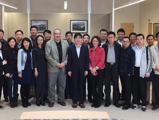 "China Railway Corporation visited the U.S.中国铁路总公司""铁水联运最新发展""培训顺利完成"
