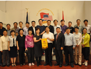 The Delegation of the SASAC of the State Council Successfully Visited the United States 国务院国有资产监督管理委
