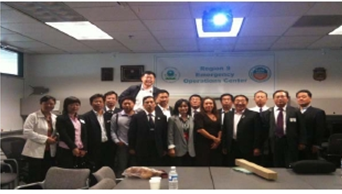 China Ministry of Enviromental Protection Delegation on Cross-regional Emergency Response to Environ