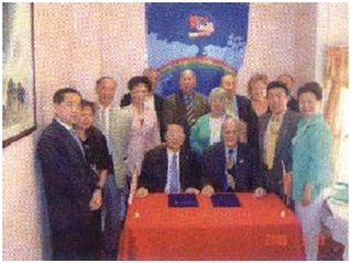 Guangdong People Foreign Friendly Association Signed MoU with USCEC 中国广东人民对外友好协会与本协会全面合作不断发展