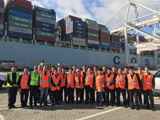China Railway Corporation Delegation visited San Francisco Bay Area 中国铁路总公司代表团抵达美国学习铁路冷链物流