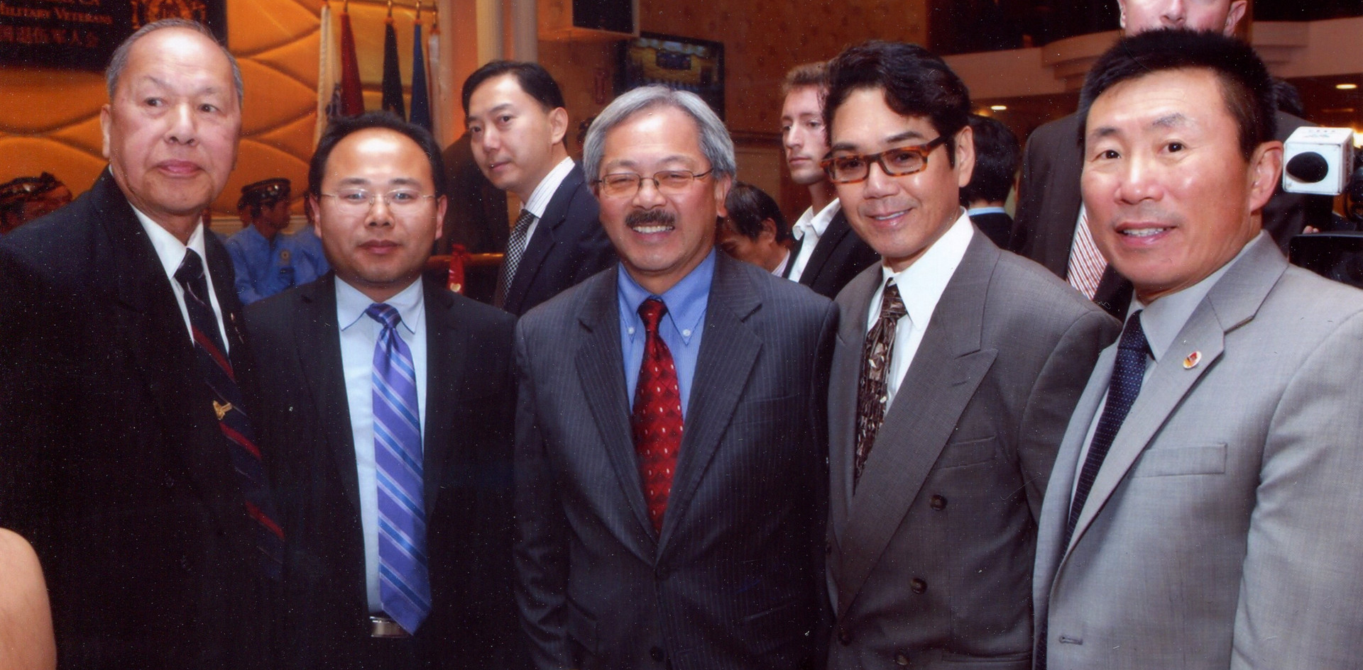 Mayor Edwin Lee met with Chinese delegates and USCEC leadership