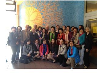 All-China Women's Federation Delegation Training Report 全国妇联培训团报道