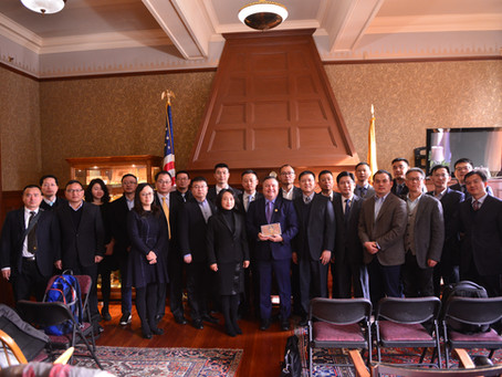 Nanjing Municipal Organization Department Delegation Visited Silicon Valley & Boston to Learn In