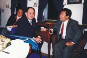 中国国务委员宋健接见USCEC主要领导 Mr. SONG Jian, State Councilor of China Met with USCEC Vice President