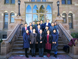 Guizhou Universities Delegates  visited NYC and Boston to learn Top-rated Academic Programs Developm