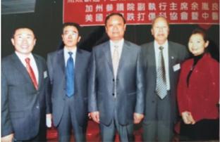 协会安排2010 年中国卫生部副部长王国强访美 Mr. WANG Guoqing, Vice Minister of the Chinese Ministry of Health and USCEC Leadership