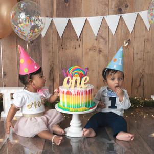 Twins-1 year Birthday