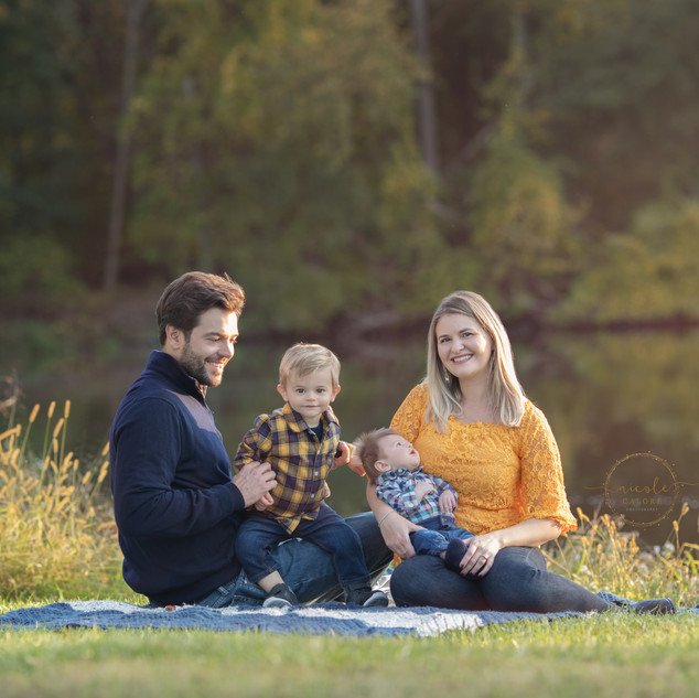 Allison and Tims'Family Fall session3 co