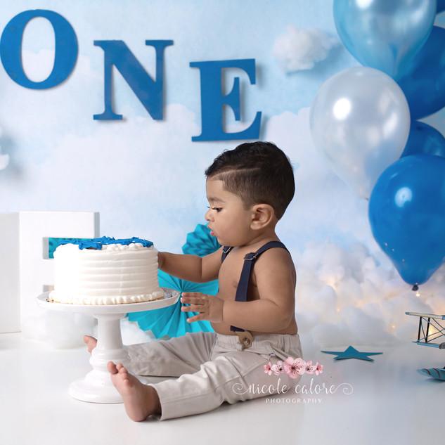 1 year Birthday Cake-Smash