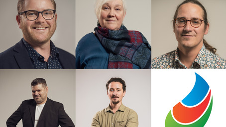 Kommunkandidater: Alfons, Susanne, Joel, Antti och Johnny