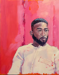 Portrait Artist of the Year finalists Tinie Tempah, Rapper.
