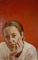 Portrait Commission OIl painting Contemporary portrait
