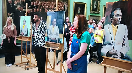 Pportrait Artist of the Year, winning artist, painters, art awards, paoty