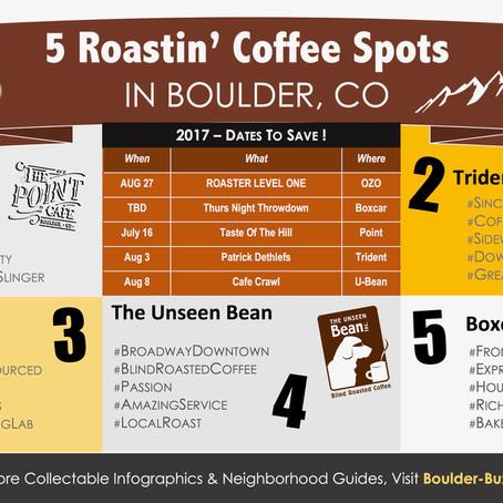5 Roastin' Coffee Spots In Boulder