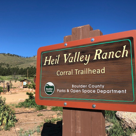 New Trails Opening At Heil Valley Ranch