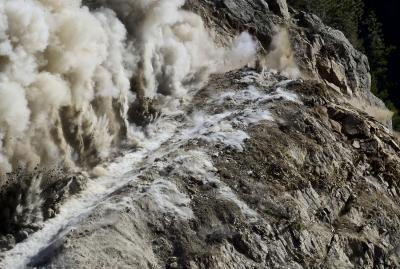 Blasting Boulder Canyon