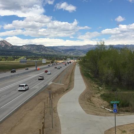 Boulder Commuting Traffic Congestion