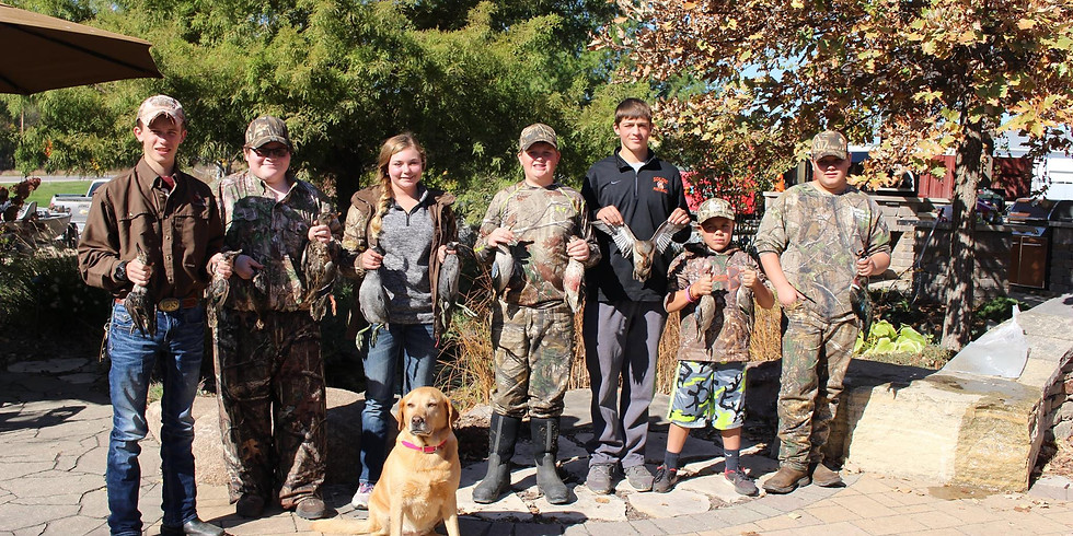 Youth Waterfowl Hunt 2021