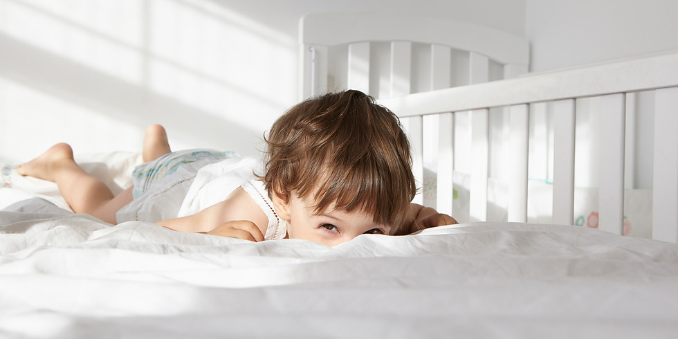 The Toddler Talk Sleep Seminar: Stubbornness, Settling & Sleep From 1-3 Years