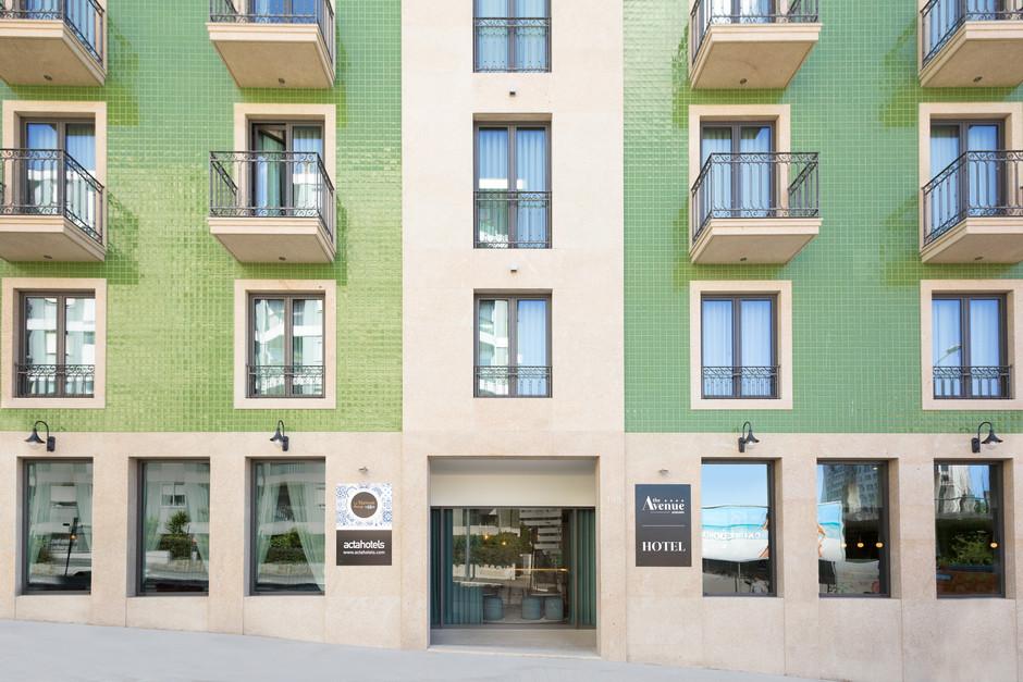 Fotografia fachada hotel Oporto