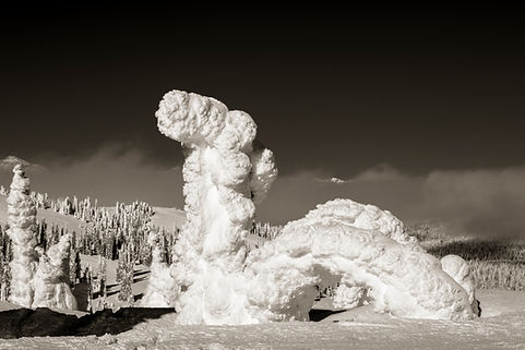 two top mountain winter scene by Scott Wheeler Photography
