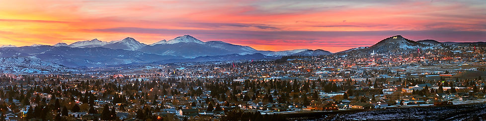 Butte Montana landscape photography by scott wheeler citiscape