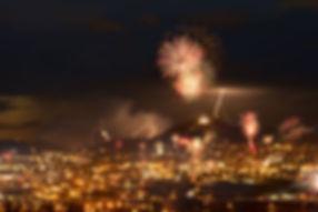 Butte, Montana, Fireworks, Independene Day, Fourth of July, Lightning