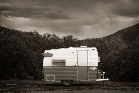 vintage shasta camp trailer by Scott Wheeler Photography
