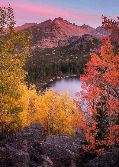 Autumn Fall Color Aspen Longs Peak Bear Lake Scott Wheeler
